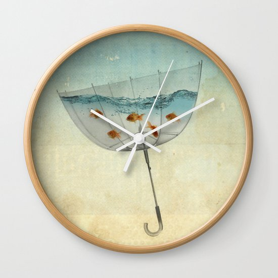 keeping the balance Wall Clock