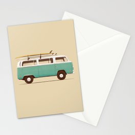 Van - Blue Stationery Cards