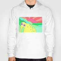 plain Hoodies featuring Peaceful Stranger Happy Plain by PENARULIT