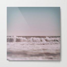 Ocean Breathes Salty Metal Print