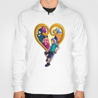 kingdom hearts Hoodies featuring Kingdom of Adventure // Adventure Time // Hearts by ⚡eizure ⚡quid ⚡tudio