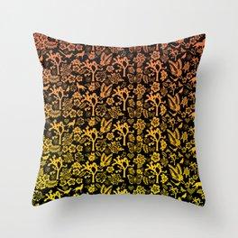 Joshua Tree Sunset by CREYES Throw Pillow
