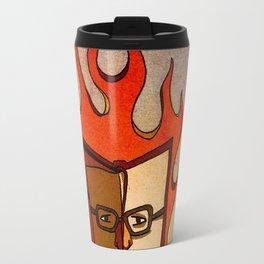 Prophets of Fiction - Ray Bradbury /Fahrenheit 451 Travel Mug