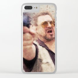 The Big Lebowski - Walter Clear iPhone Case
