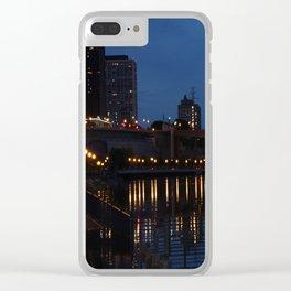Night Bridge Clear iPhone Case