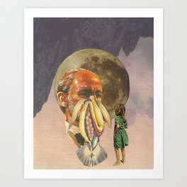 Mother earth is punishing me Art Print