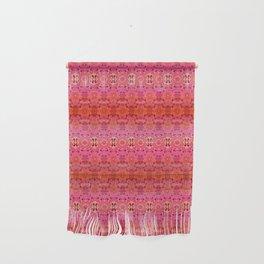 Pink Haze Bandana Ombre' Stripe Wall Hanging