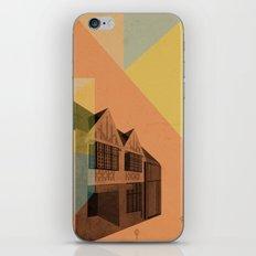 Pape Danforth Branch iPhone & iPod Skin