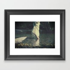 water walk Framed Art Print
