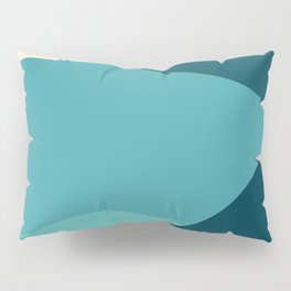 swell ocean and teal Pillow Sham