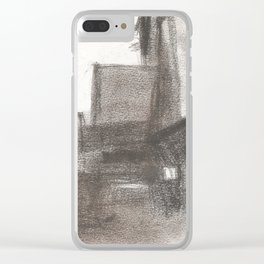 #1 Three Light Plaza Clear iPhone Case
