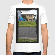 House on The Esplanade White Mens Fitted Tee MEDIUM