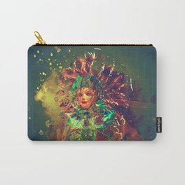 Abstract Carneval Carry-All Pouch