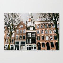Nieuwmarkt - Amsterdam, The Netherlands - #9 Canvas Print