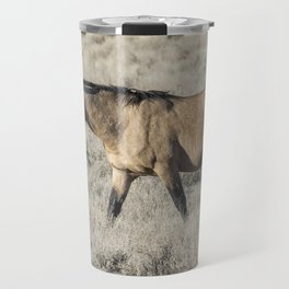 The Self-Assured Saunter of a Stallion Travel Mug