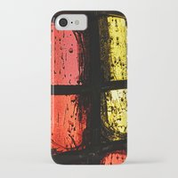 stained glass iPhone & iPod Cases featuring Stained glass by Pirmin Nohr