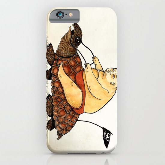 Lazy Tarzan iPhone & iPod Case