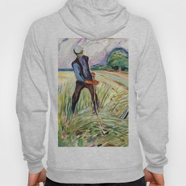The Haymaker by Edvard Munch Hoody