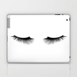 Black And White Lashes Laptop & iPad Skin