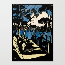 """Harbour Foreshore"" by Margaret Preston Canvas Print"