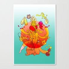 Naga Boo Canvas Print