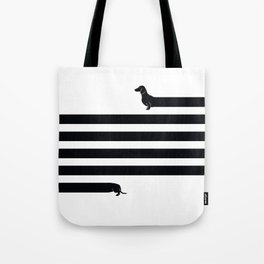 (Very) Long Dog Tote Bag