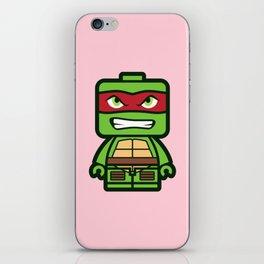 Chibi Raphael Ninja Turtle iPhone Skin