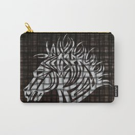 Industrial Stylized Horse Head Carry-All Pouch