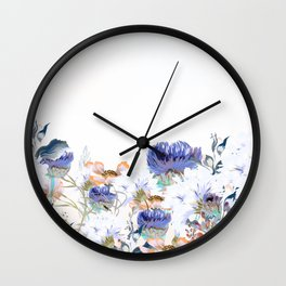 Morning field. Fresh and beauitful Wall Clock