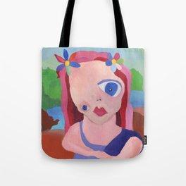 Mona Lisa Gets a Makeover Tote Bag
