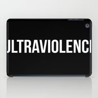 ultraviolence iPad Cases featuring ultraviolence by Sofi G.