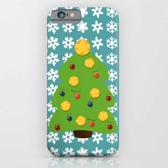 Christmas tree iPhone & iPod Case