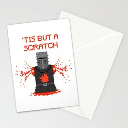 Monty Phyton black knight Stationery Cards