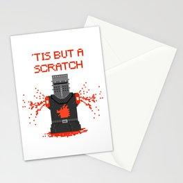 Monty Phyton black knight Stationery Cards