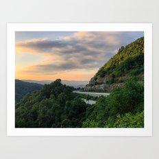 Blue Ridge Mountains, Carolinas Art Print