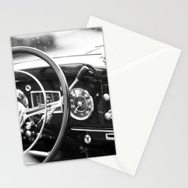 Classic Car Interior Stationery Cards