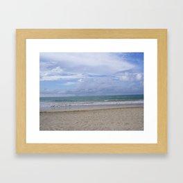 ocean views Framed Art Print