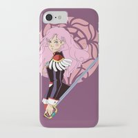 utena iPhone & iPod Cases featuring Après le duel - Rose Crest Ring by jacs terese