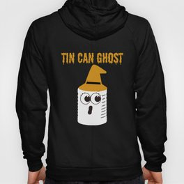 Tin can ghost Halloween Party Gift Idea Hoody