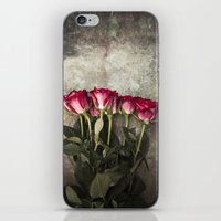 roses iPhone & iPod Skins featuring Roses by Maria Heyens