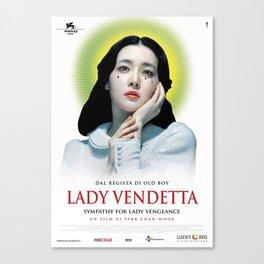 Lady Vendetta Canvas Print