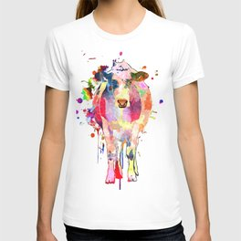 Colored Cow T-shirt
