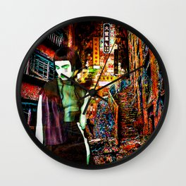 Hungry Ghost Wall Clock