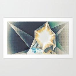 CrystaLight Art Print