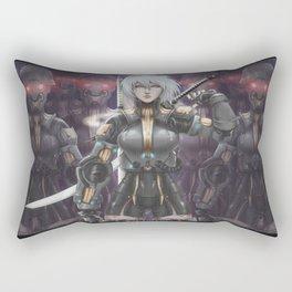 NieR Automata: 2B Heavy Armor Rectangular Pillow