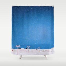 Gudauri Georgia Shower Curtain