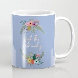 F*ck the patriarchy Coffee Mug
