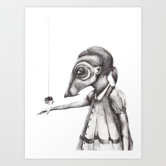 Yo no Tengo Miedo. Art Print