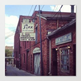 Blues Alley (Washington, DC) Canvas Print