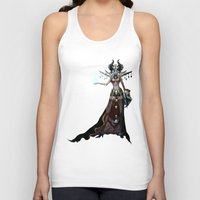 witch Tank Tops featuring Witch by Samera Tseng